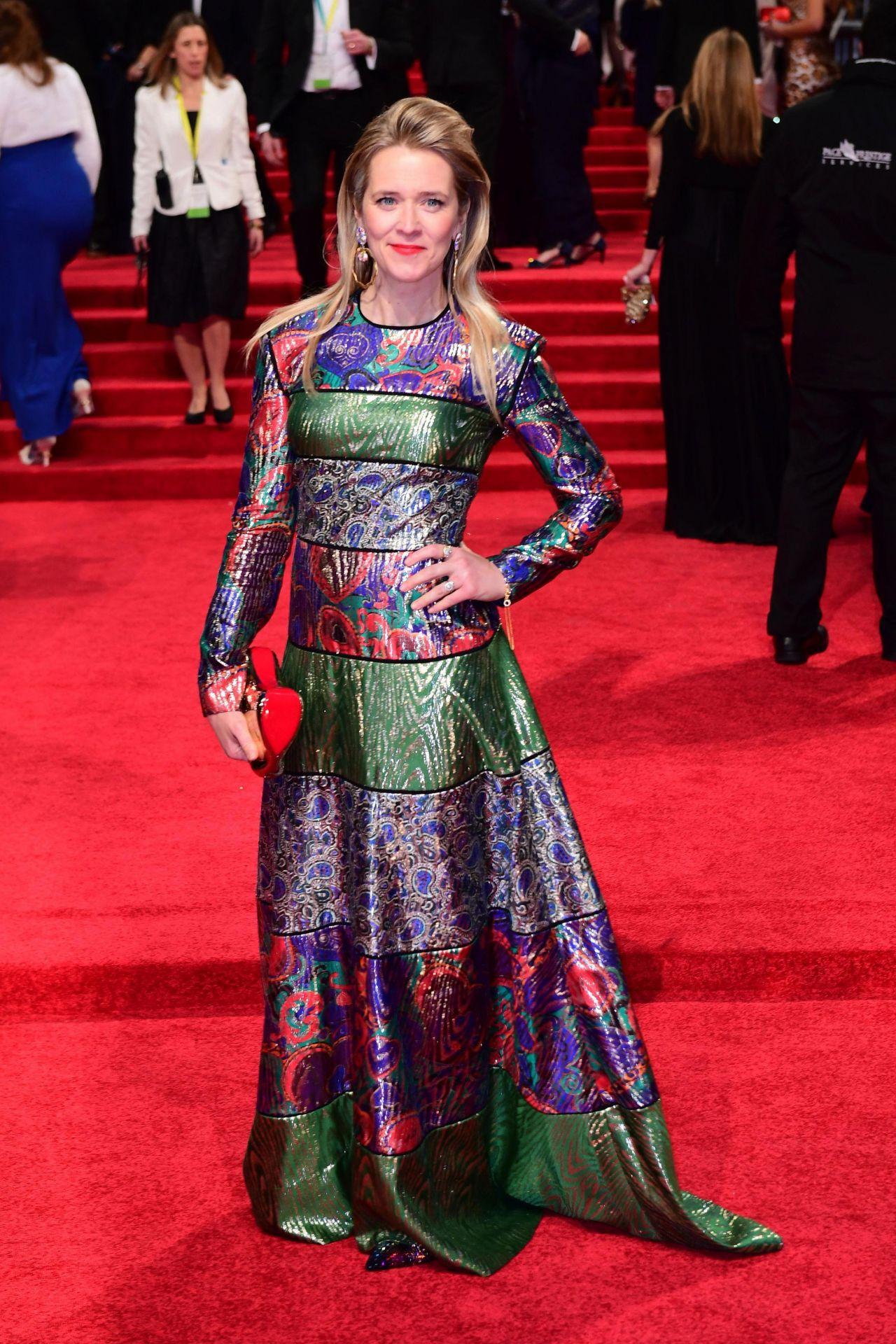 Edith Bowman at BAFTA Awards in London, UK 2/12/ 2017