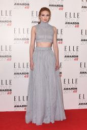 Eleanor Tomlinson – Elle Style Awards in London 2/13/ 2017