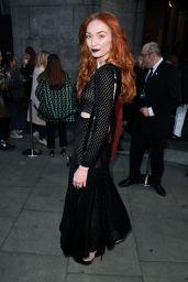 Eleanor Tomlinson - London Fashion Week 2/18/ 2017