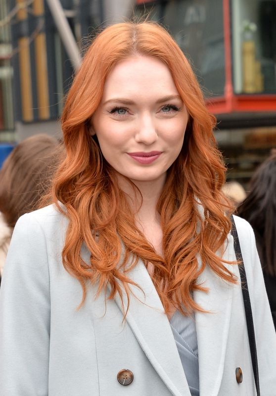 Eleanor Tomlinson - Topshop Unique Show at London Fashion Week 02/19/ 2017