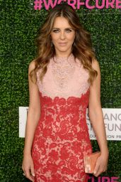 Elizabeth Hurley – Women's Cancer Research Fund Hosts 'An Unforgettable Evening' in LA 2/16/ 2017