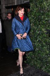 Elizabeth McGovern – BAFTA Nespresso Nominees' Party, London, UK 2/11/ 2017