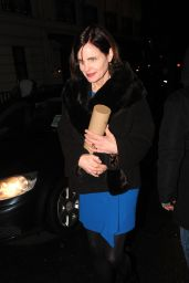 Elizabeth McGovern – Harvey Weinstein Pre BAFTAs Dinner in London, UK 2/10/ 2017