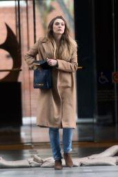 Elizabeth Olsen - Runs errands in Los Angeles 2/27/ 2017