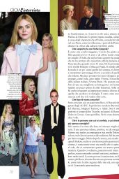 Elle Fanning - Gioia! Magazine March 2017 Issue