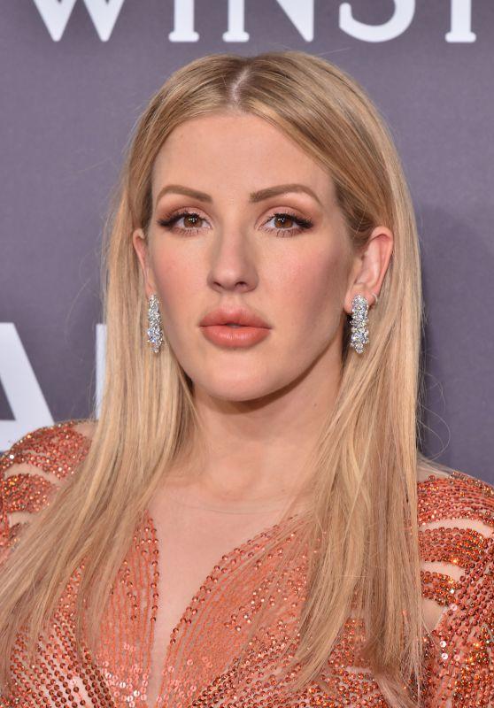 Ellie Goulding on Red Carpet – amfAR New York Gala in NYC 2/8/ 2017