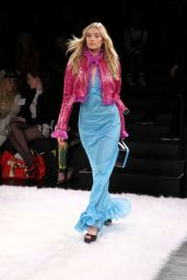 Elsa Hosk Catwalk - Jeremy Scott Fashion Show in NYC 2/10/ 2017