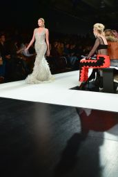 Elsa Hosk Walk in Jonathan Simkhai X Carbon 38 Fashon Show in NYC 2/11/ 2017