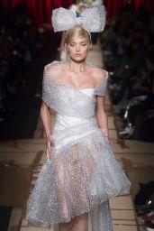 Elsa Hosk Walks Moschino Show – Milan Fashion Week, Italy 2/24/ 2017