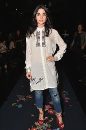 Emeraude Toubia - Desigual Fashion Show - New York Fashion Week 2/9/ 2017