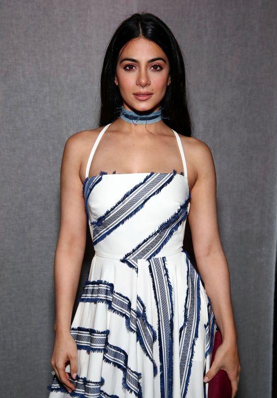 Emeraude Toubia – Milly Fashion Show at NYFW 2/10/ 2017
