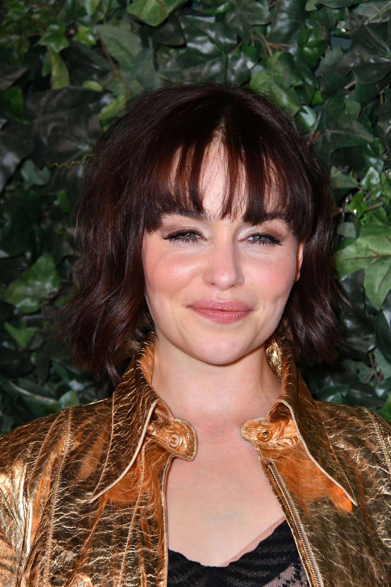Emilia Clarke – BAFTA Nespresso Nominees' Party, London ...