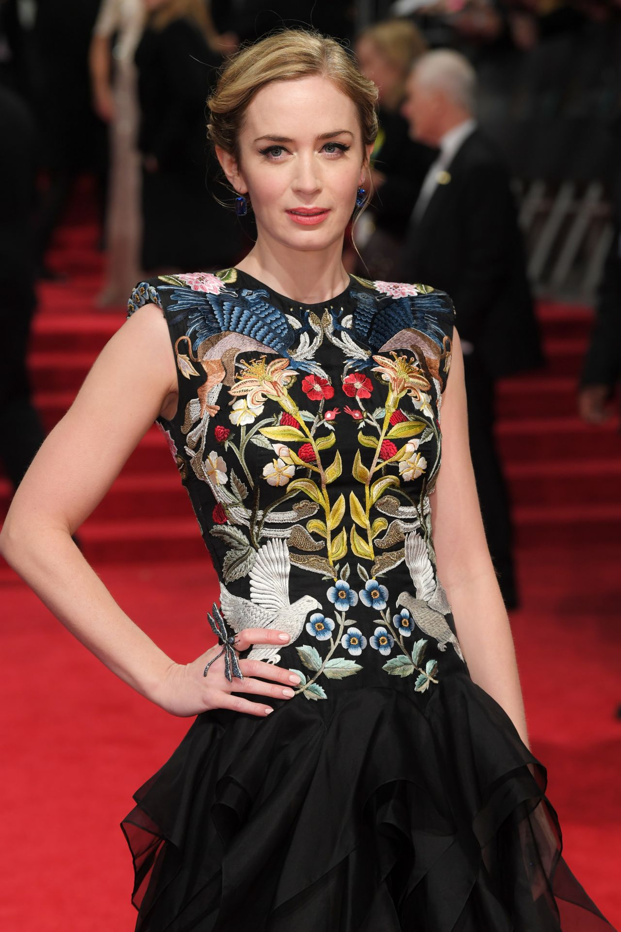 Emily Blunt at BAFTA A...