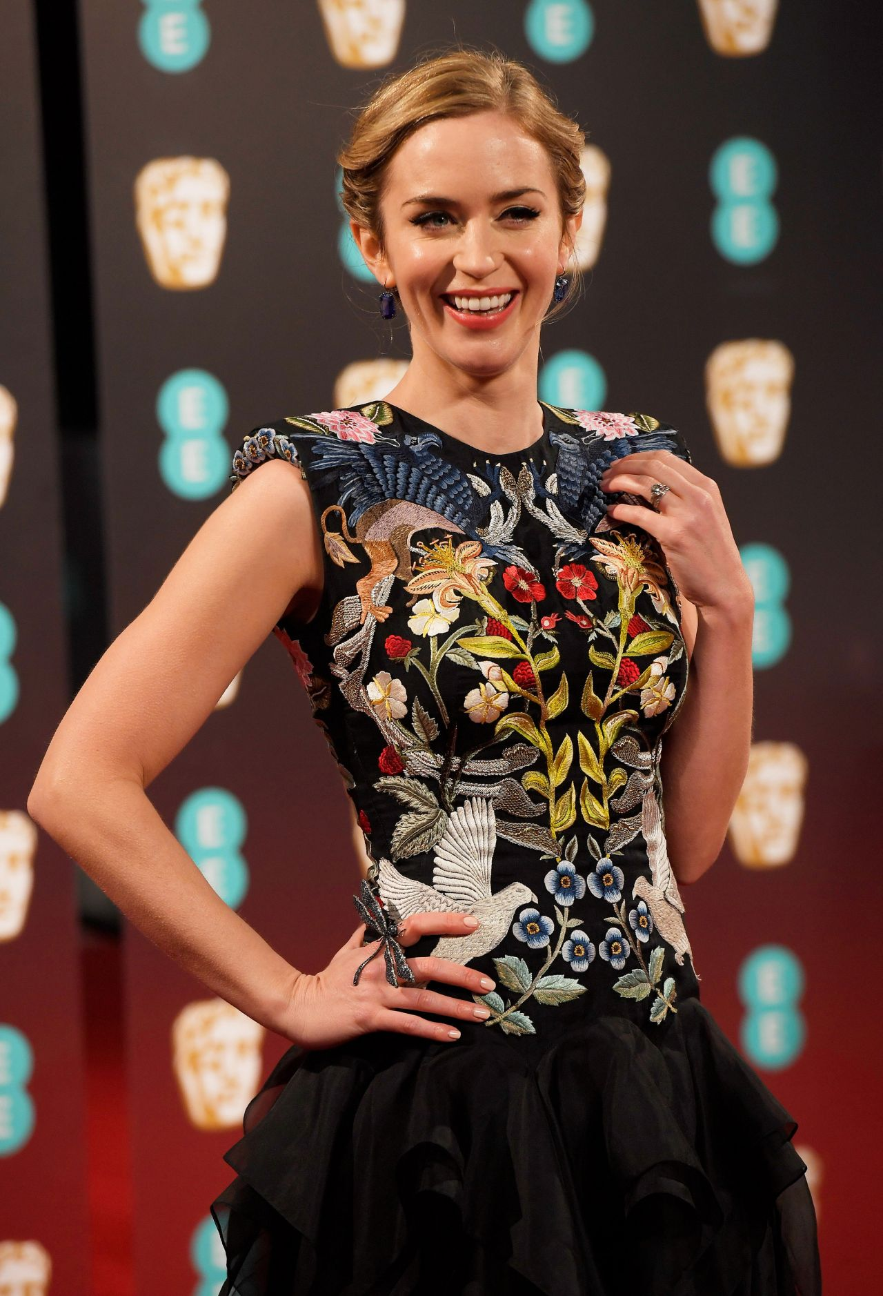 Emily Blunt at BAFTA Awards in London, UK 2/12/ 2017