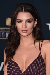 Emily Ratajkowski - 6th Annual NFL Honors in Houston, TX 2/4/ 2017