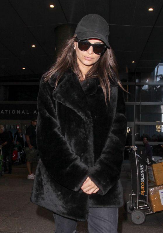 Emily Ratajkowski at LAX International Airport in Los Angeles 2/22/ 2017