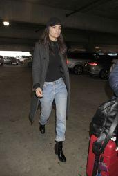 Emily Ratajkowski - Looks Downcast as she Catches a Flight out of LA 2/20/ 2017