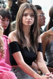 Emily Ratajkowski – Michael Kors Fashion Show in New York 2/15/ 2017