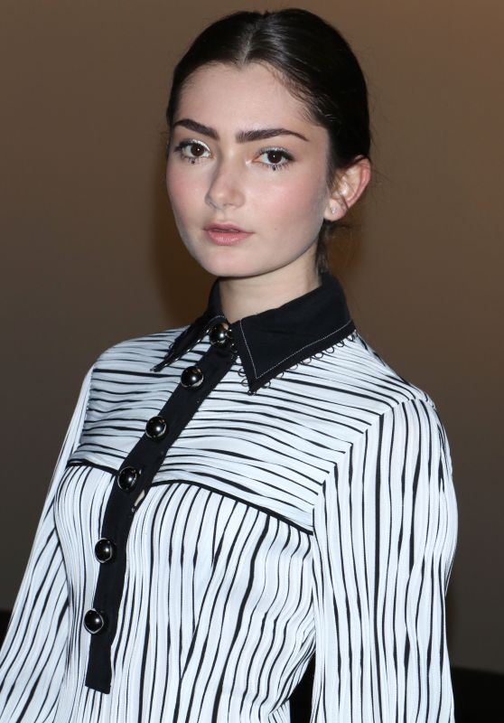Emily Robinson – Prabal Gurung Fashion Show in New York 2/12/ 2017