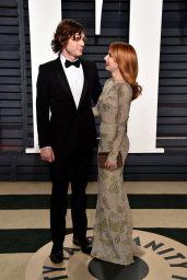 Emma Roberts and Evan Peters at Vanity Fair Oscar 2017 Party in Los Angeles
