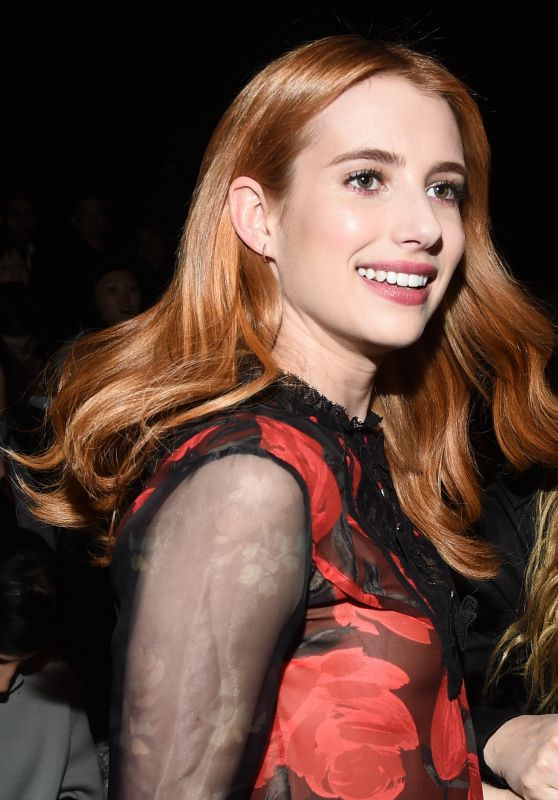 Emma Roberts – Coach FW17 Show in New York 2/14/ 2017