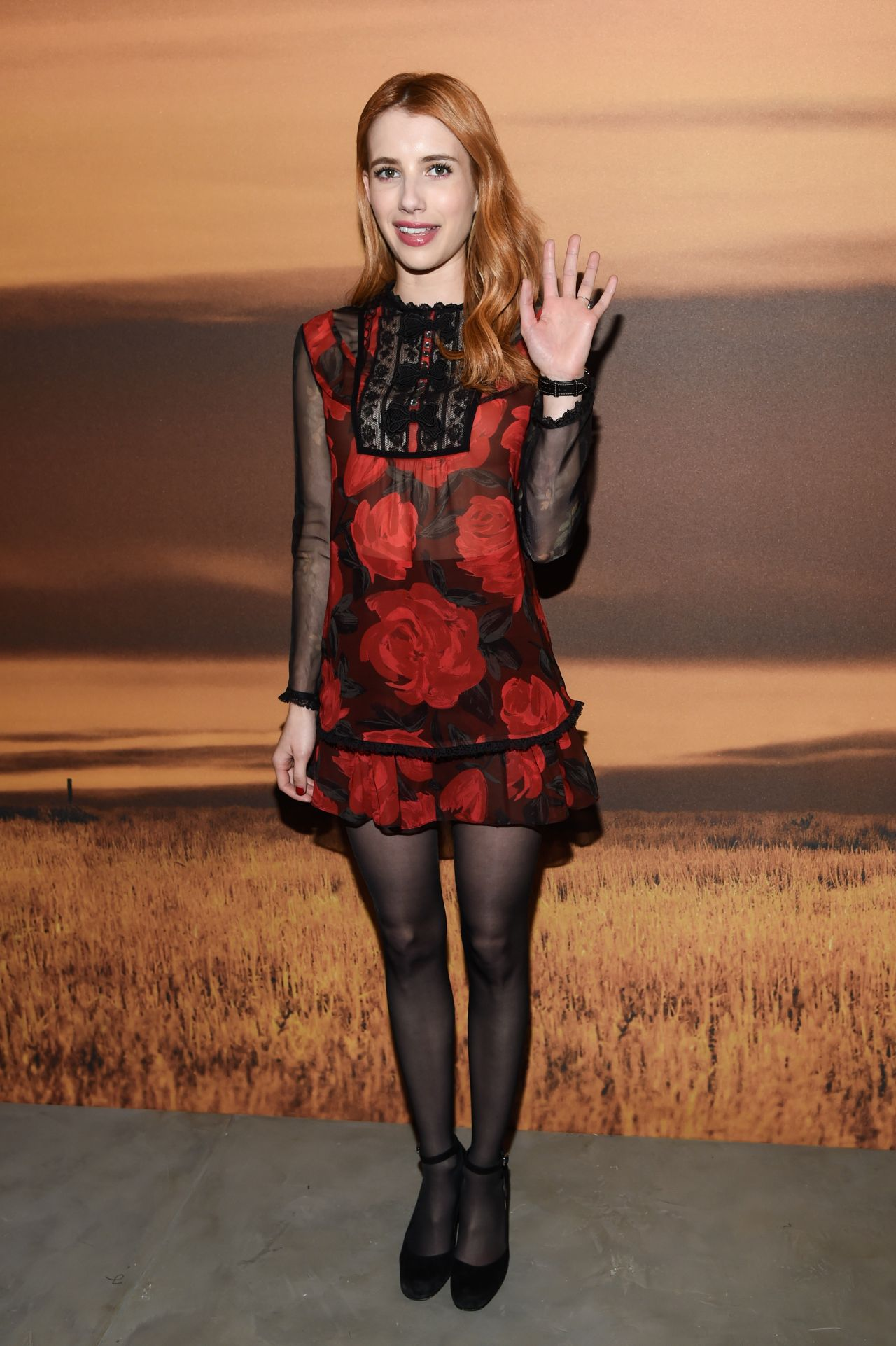 Emma Roberts  Coach Fw17 Show In New York 214 2017-2201