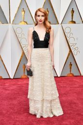 Emma Roberts – Oscars 2017 Red Carpet in Hollywood