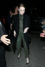 Emma Stone - Arriving For Woman in Film Cocktail Party in Los Angeles 2/24/ 2017