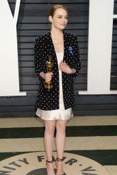 Emma Stone at Vanity Fair Oscar 2017 Party in Los Angeles