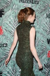 Emma Stone at Women in Film Pre-Oscar Cocktail Party in Los Angeles 2/24/ 2017