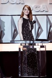 Emma Stone - Directors Guild of America Awards in Beverly Hills  2/4/ 2017