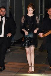 Emma Stone - Leaving Jimmy Kimmel Live in Los Angeles 2/6/ 2017