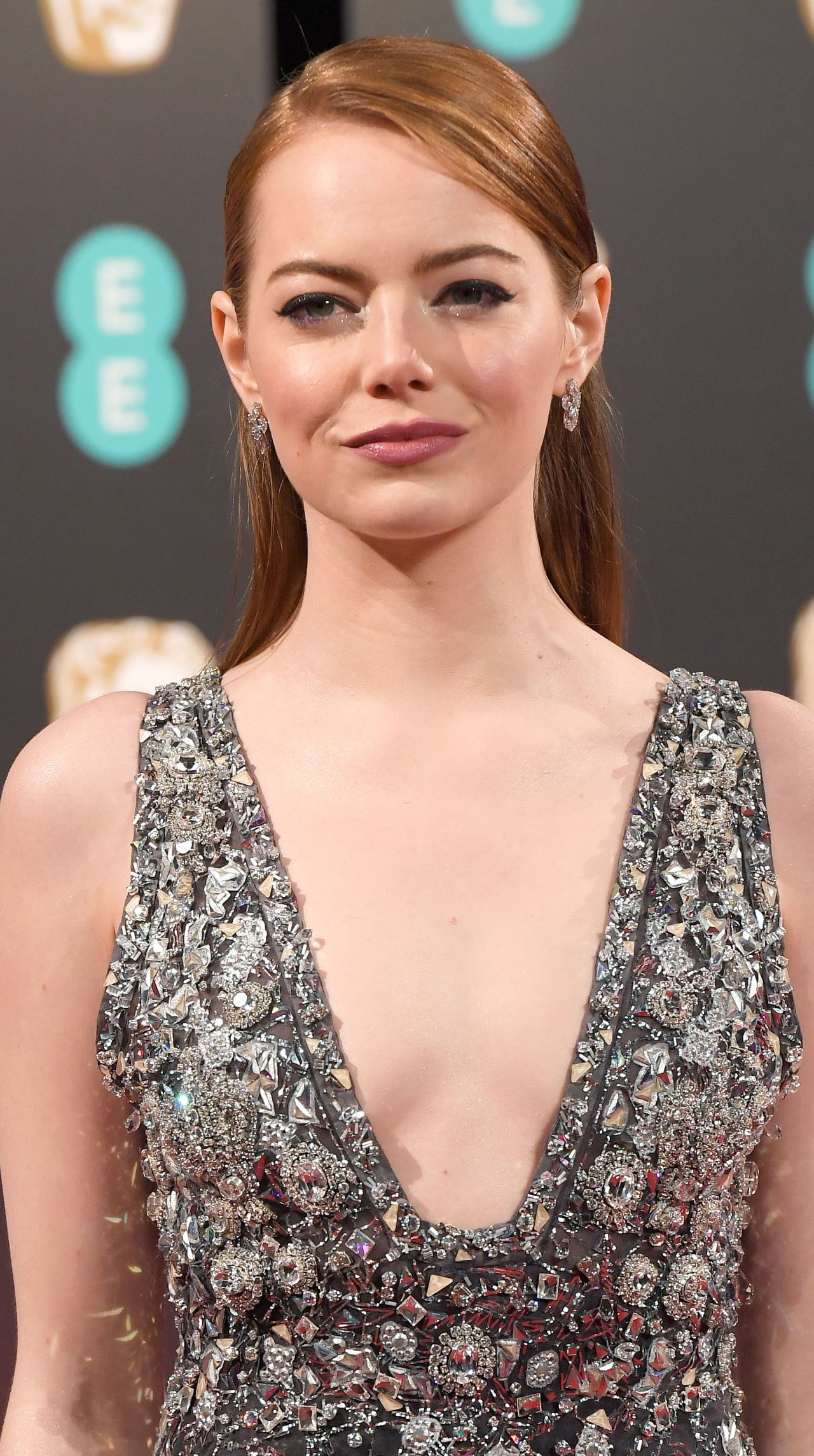 Emma Stone on Red Carpet at BAFTA Awards in London, UK 2 ... Emma Stone