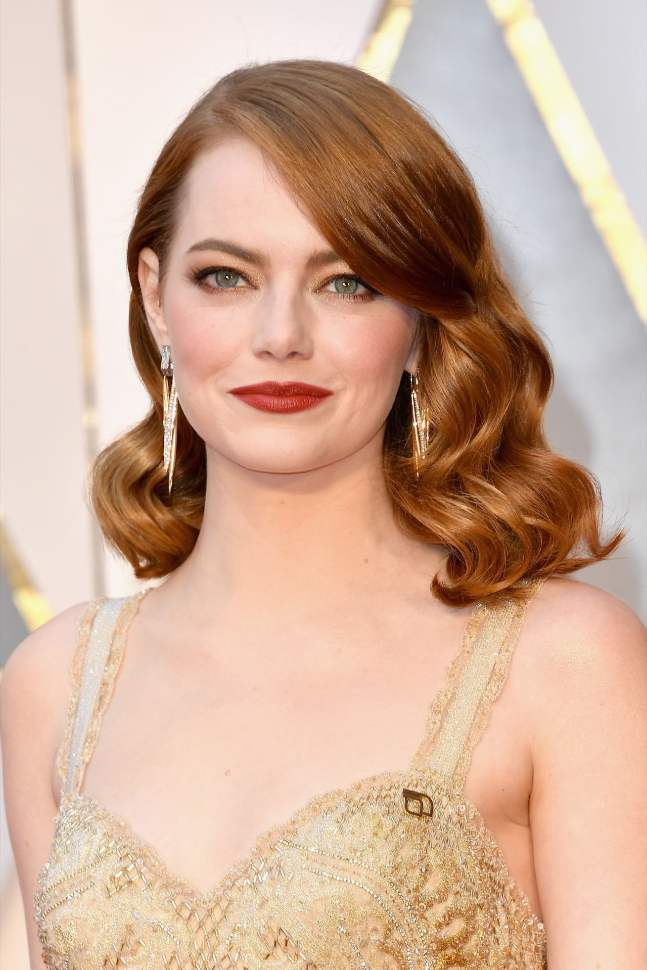emma stone oscars 2017 red carpet in hollywood. Black Bedroom Furniture Sets. Home Design Ideas