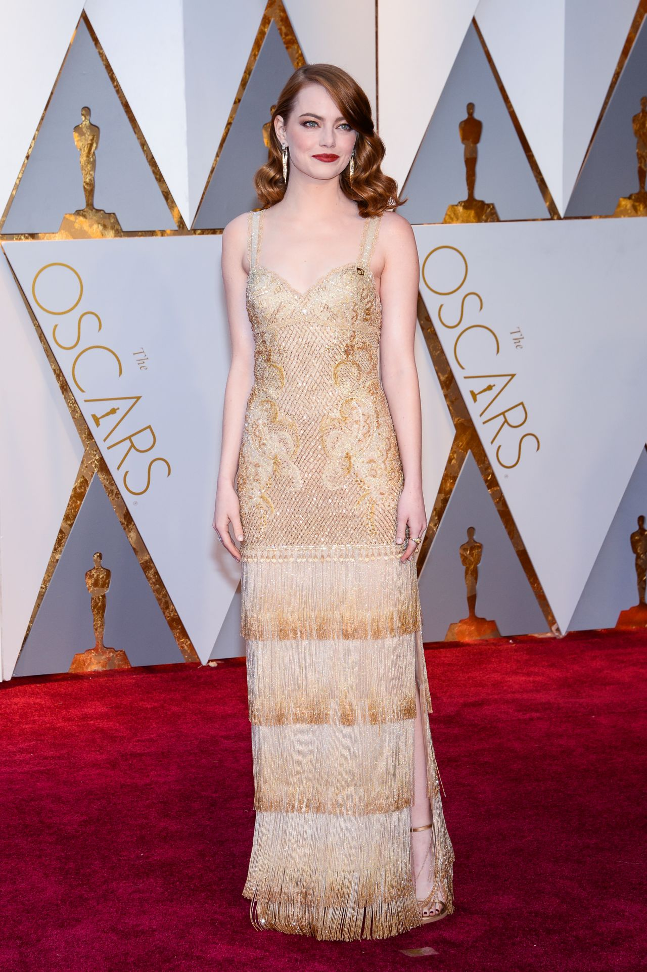 Emma stone oscars 2017 red carpet in hollywood - Oscars red carpet online ...