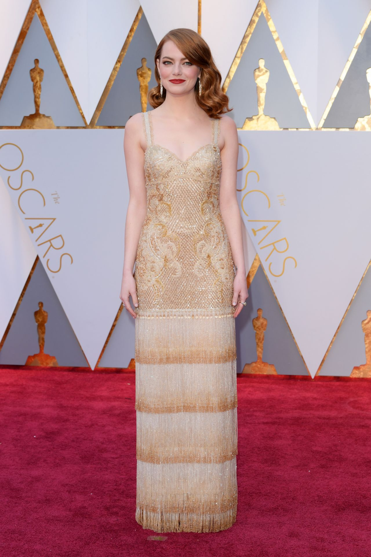 Image result for Emma Stone Oscar 2017 Red Carpet