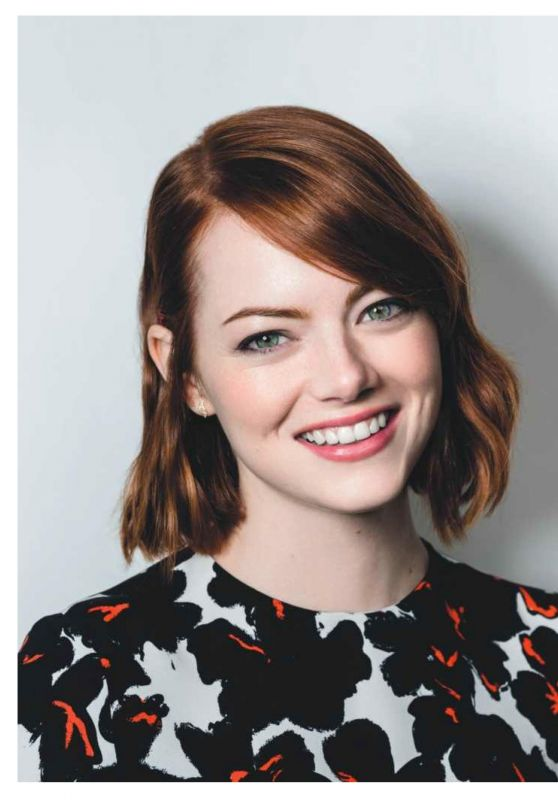 Emma Stone - Psychologies Magazine UK April 2017 Issue