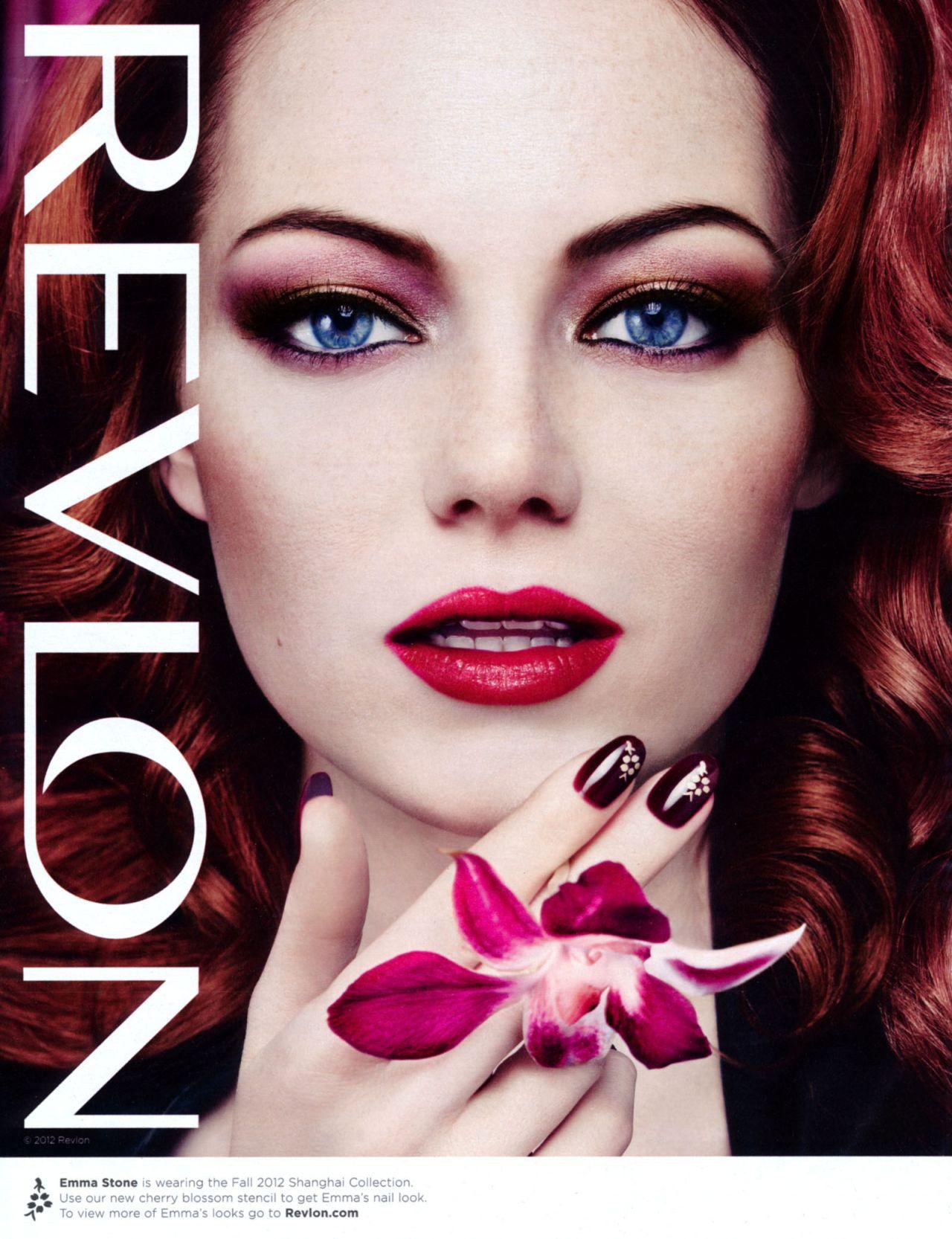 New Audi Brentwood >> Emma Stone - Revlon Ads (2017)
