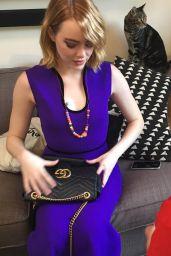 Emma Stone - Social Media Pics 2/6/ 2017