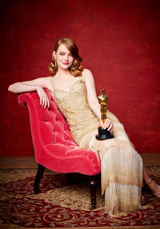 Emma Stone - The 89th Annual Academy Awards Winner (2017)