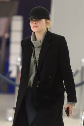 Emma Stone Travel Outfit - JFK Airport in NYC 2/10/ 2017