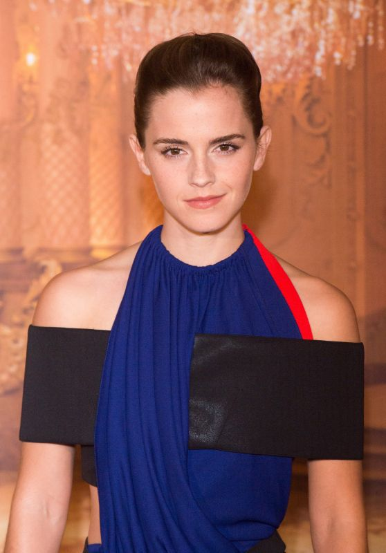 Emma Watson - 'Beast And Beauty' Photocall at Hotel Meurice in Paris 2/20/ 2017