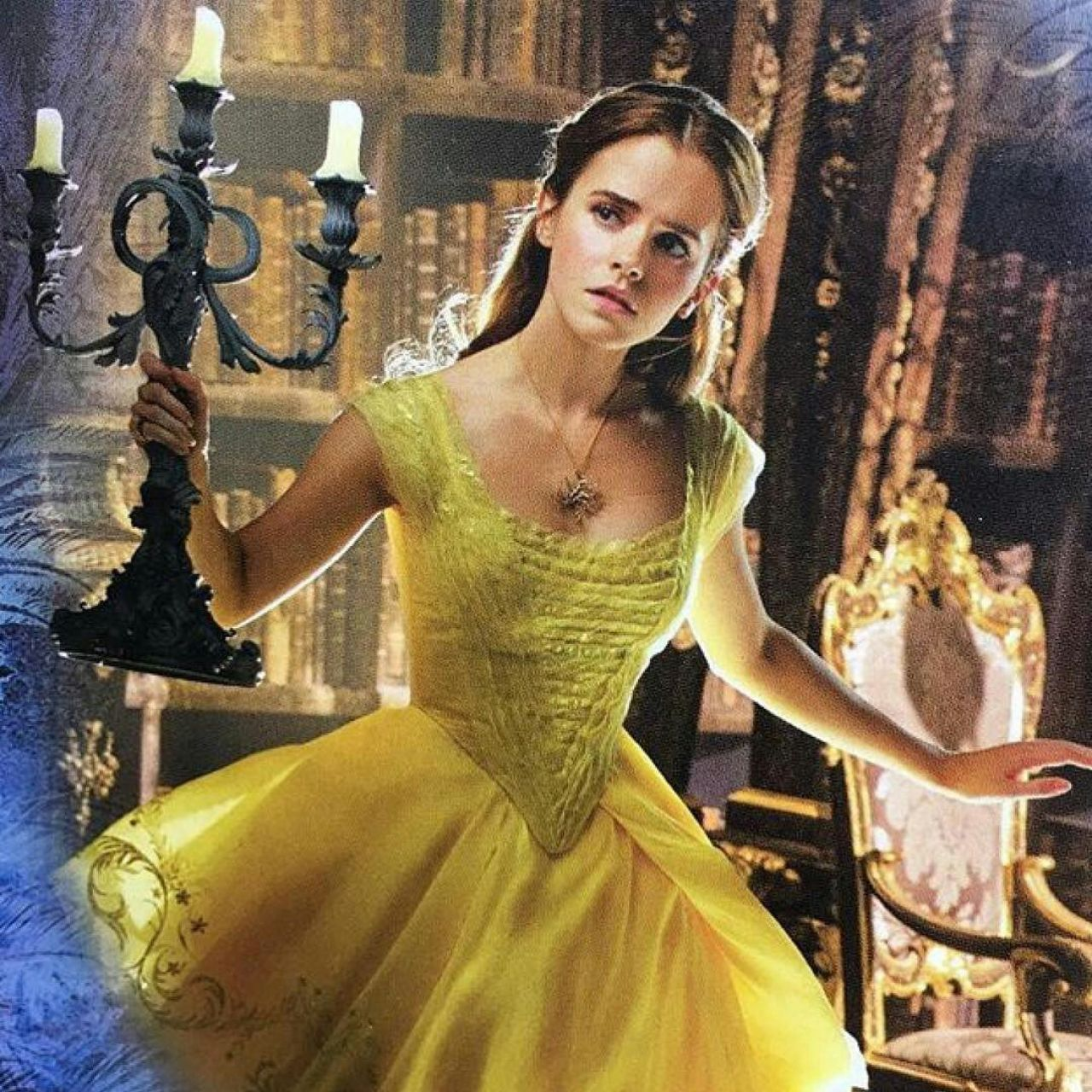 Emma Watson Beauty And The Beast 2017 Posters Promotional Photos