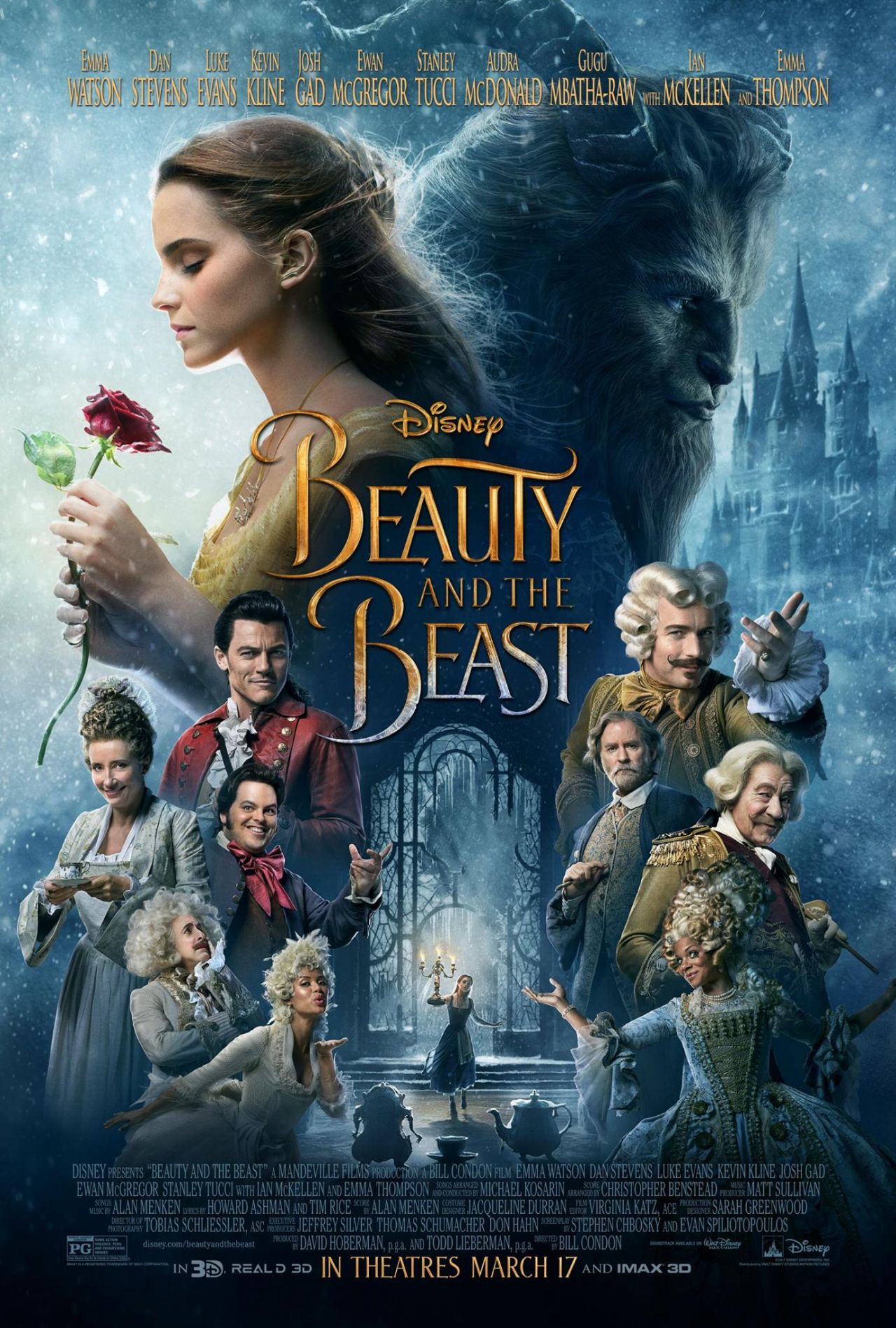 Beauty And Fashion Youtube: Beauty And The Beast (2017) Posters