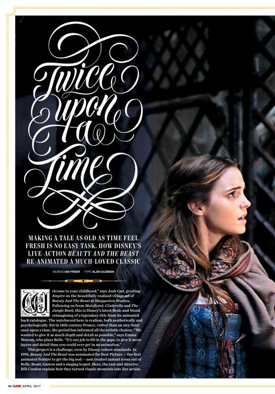 Emma Watson - Empire Magazine UK April 2017 Issue