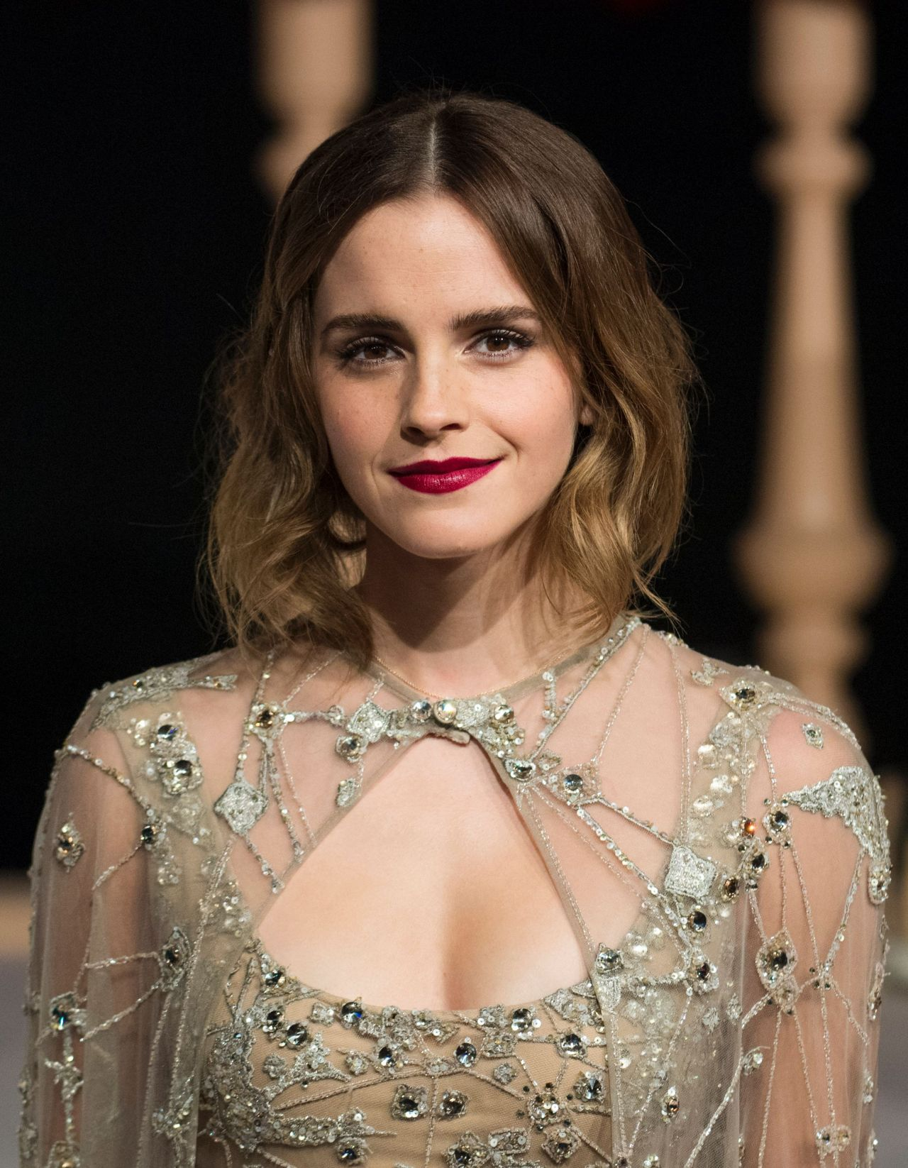 Emma Watson The Beauty And The Beast Premiere In