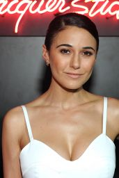Emmanuelle Chriqui – Dior Party at Delilah in West Hollywood 2/8/ 2017