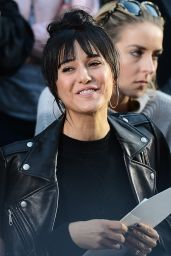 Emmanuelle Chriqui – Rebecca Minkoff Fashion Show in Los Angeles 2/4/ 2017