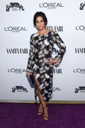 Emmanuelle Chriqui – Vanity Fair and L'Oreal Paris Toast to Young Hollywood in West Hollywood 2/21/ 2017