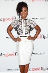 Erica Tazel – 'The Good Fight' Premiere in New York 2/8/ 2017
